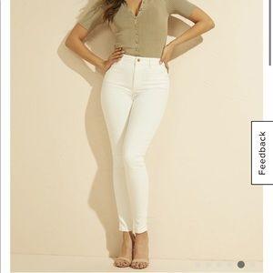 Marciano Stiletto 97 White Jeans